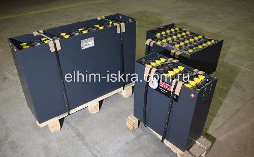 24V6PzS720Ah тяговая батарея